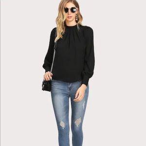 Tops - NWOT never worn black blouse
